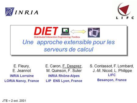 DIET Release 0.3 (LIFC)